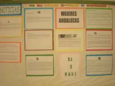 Coeducación y Día de Andalucía.